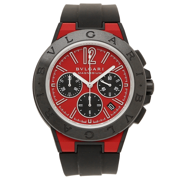 ブルガリ 腕時計 レディース BVLGARI DG42C9SMCVDCH レッド ブラック