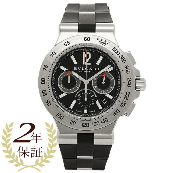 ブルガリ 腕時計 レディース BVLGARI DP42BSVDCH ブラック シルバー