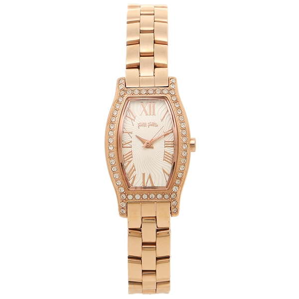 フォリフォリ 腕時計 FOLLI FOLLIE レディースウォッチ WF8B026BPZ ピンクゴールド