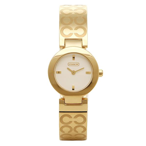 COACH コーチ 14501245 マーサー オプアート バングル ホワイト/ゴールド レディースウォッチ/腕時計【通販】