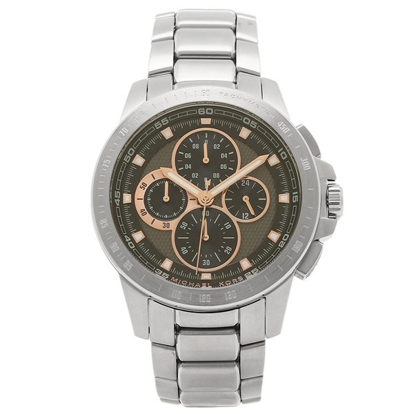 MICHAEL KORS マイケルコース 腕時計 レディース MK8528 ブラック シルバー