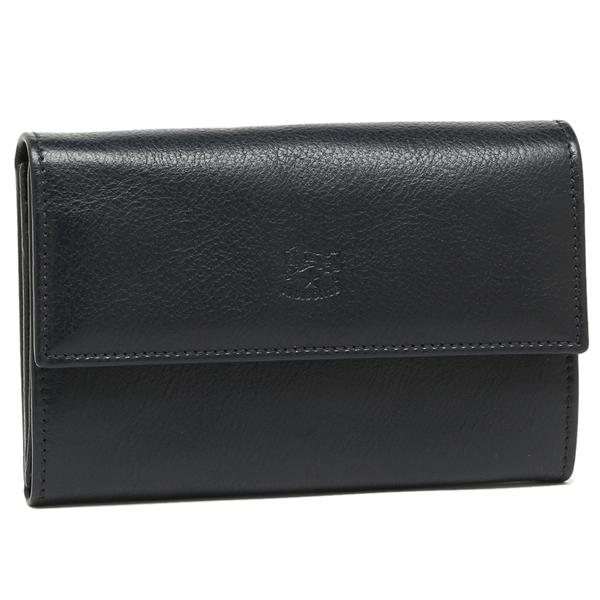 IL BISONTE 折り財布 レディース イルビゾンテ C0992 P 137 ブルー