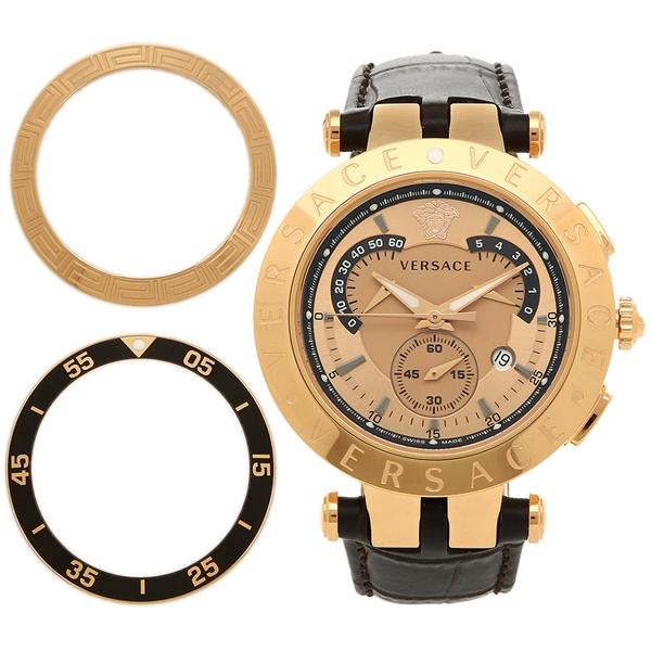VERSACE ヴェルサーチ 腕時計 23C80D999S497 ゴールド ブラウン