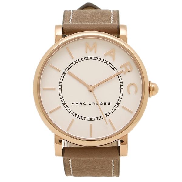MARC JACOBS 腕時計 レディース マークジェイコブス MJ1533 ホワイト ローズゴールド ベージュ