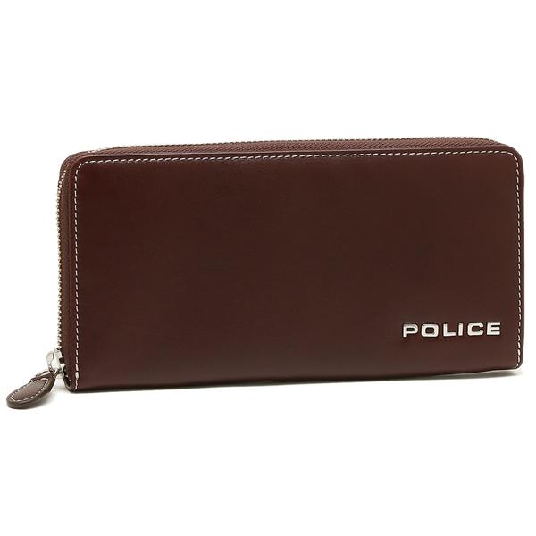 POLICE ポリス メンズ 長財布 PLC131 ブラウン