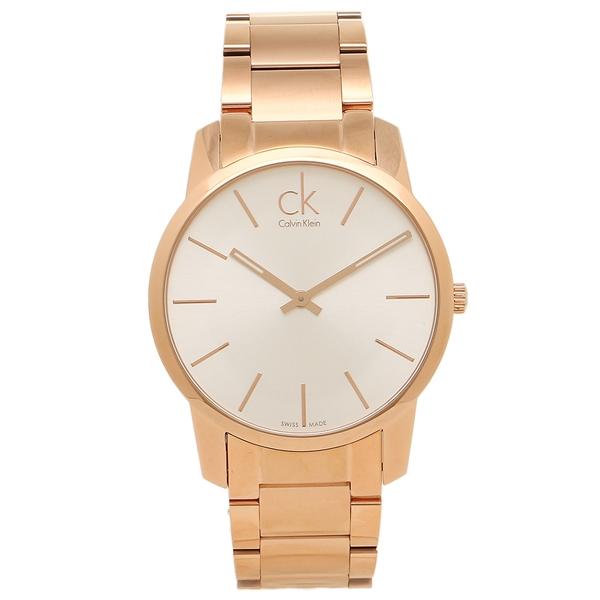 Calvin Klein カルバンクライン レディース 腕時計 K2G21646 シルバー ローズゴールド