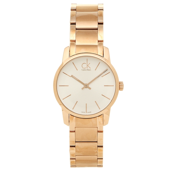 Calvin Klein カルバンクライン レディース 腕時計 K2G23646 シルバー ゴールド