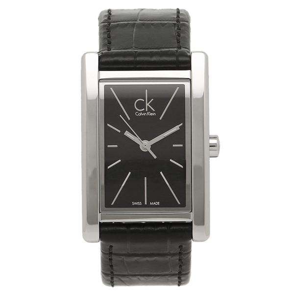 Calvin Klein カルバンクライン レディース 腕時計 K4P231C1 ブラック シルバー