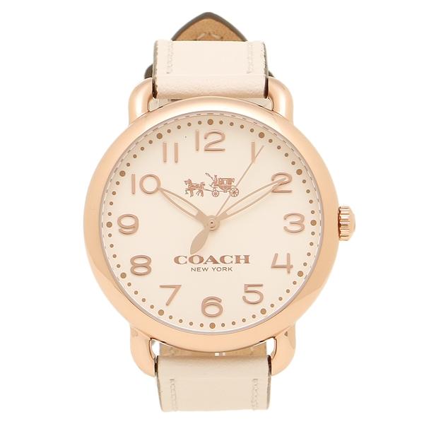 COACH コーチ 腕時計 レディース 14502716 ローズゴールド アイボリー