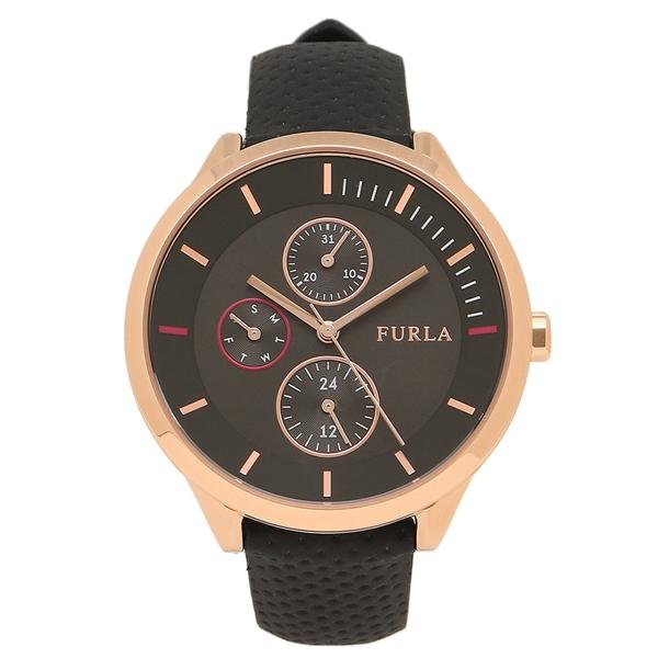 FURLA フルラ 腕時計 レディース R4251102527 899516 ローズゴールド/ブラック