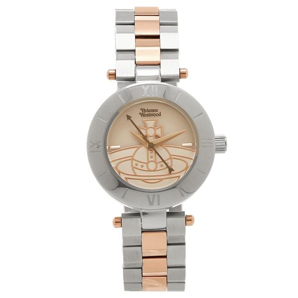 VIVIENNE WESTWOOD ヴィヴィアンウエストウッド 腕時計 レディース VV092SLTT シルバー ローズゴールド