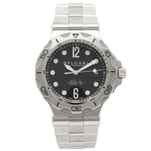 ブルガリ 腕時計 メンズ BVLGARI DP42BSSDSDVTG ブラック シルバー