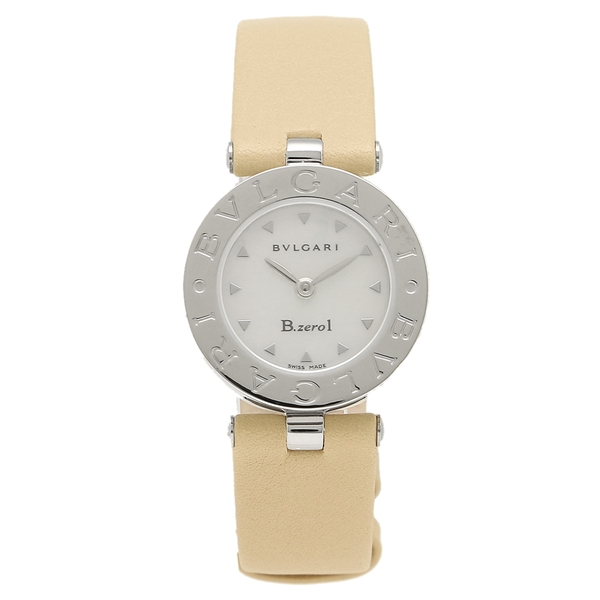 BVLGARI 腕時計 レディース ブルガリ BZ22C1SL M ベージュ ホワイト シルバー