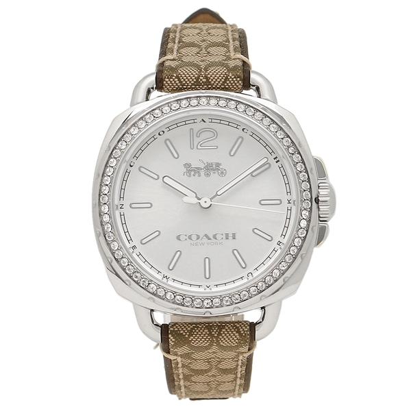 COACH コーチ 腕時計 レディース 14502768 カーキー シルバー