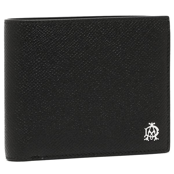 DUNHILL 折財布 メンズ ダンヒル L2AC32A ブラック