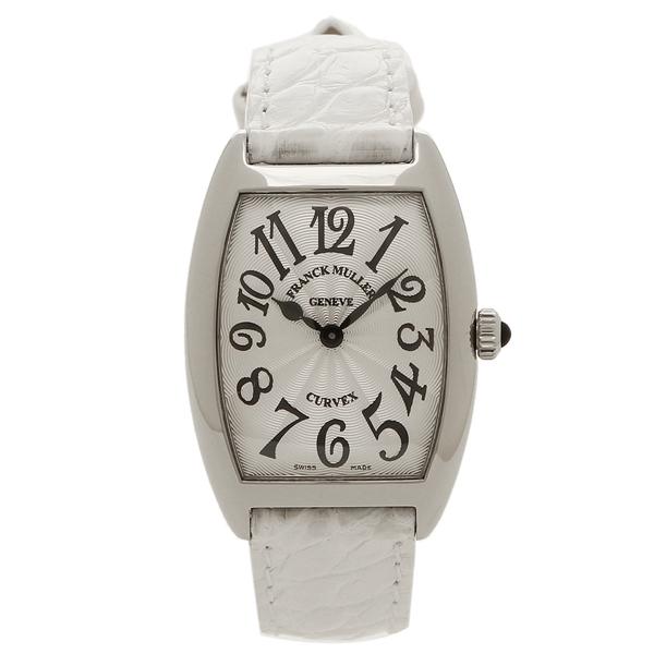 フランクミュラー 腕時計 レディース FRANCK MULLER 1752 BQZ AC BL WH ホワイト/シルバー