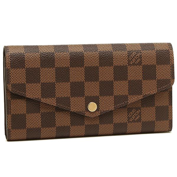 ルイヴィトン 財布 LOUIS VUITTON N63209 ダミエ ポルトフォイユサラ 長財布