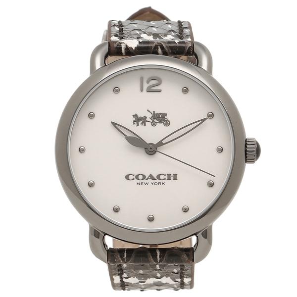 COACH コーチ 腕時計 レディース 14502712 W6208 ブラック ホワイト シルバー