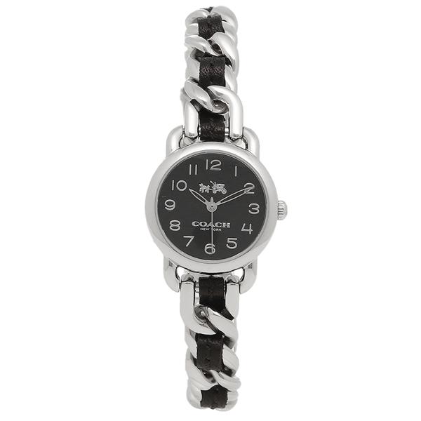 COACH コーチ 腕時計 レディース 14502725 ブラック シルバー