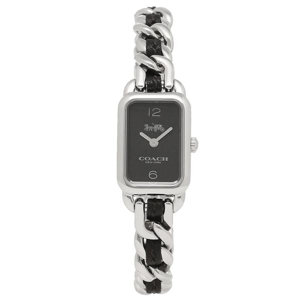 COACH コーチ 腕時計 レディース 14502748 シルバー ブラック