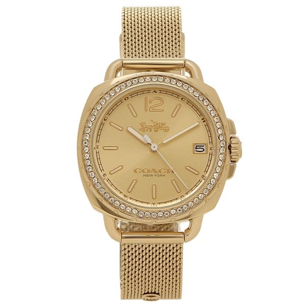 COACH コーチ 腕時計 レディース 14502756 イエローゴールド