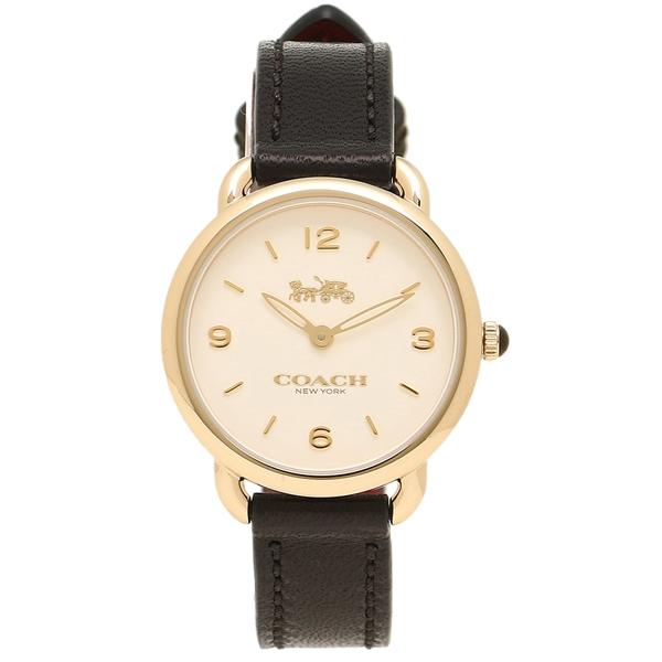 COACH コーチ 腕時計 レディース 14502791 W1101 ブラック イエローゴールド シルバー