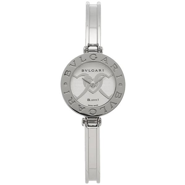 ブルガリ 時計 BVLGARI 腕時計 レディース B-ZERO1 ビーゼロワン バングル シルバー BZ22C6HSS-2 Mサイズ ウォッチ シリアル有