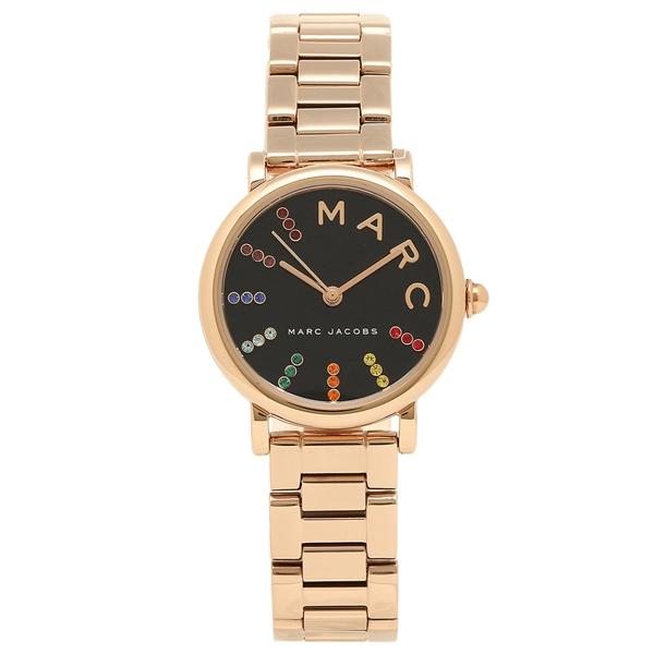 MARC JACOBS 腕時計 レディース マークジェイコブス MJ3569 ローズゴールド ブラック