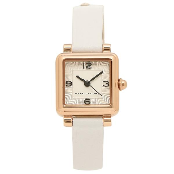 MARC JACOBS 腕時計 レディース マークジェイコブス MJ8677 ローズゴールド ホワイト