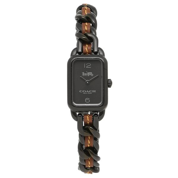 COACH コーチ 腕時計 レディース 14502747 ブラック ブラウン