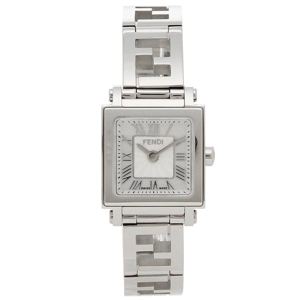 FENDI 腕時計 レディース フェンディ F605024500 ホワイトパール シルバー