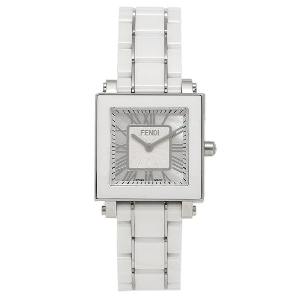 FENDI 腕時計 レディース フェンディ F622240B ホワイトパール ホワイト シルバー