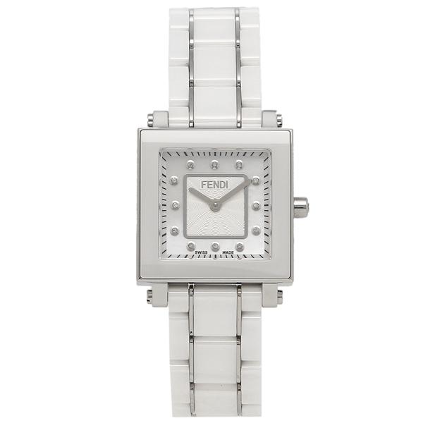 FENDI 腕時計 レディース フェンディ F622240BD ホワイトパール ホワイト シルバー
