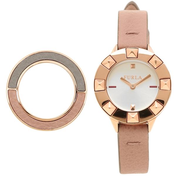 FURLA フルラ 腕時計 レディース R4251109509 ホワイト ピンク