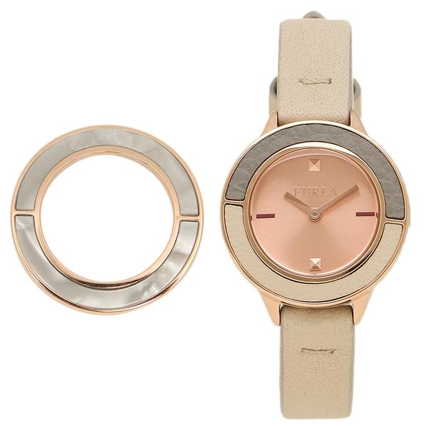 FURLA フルラ 腕時計 レディース R4251109510 ホワイト ローズゴールド