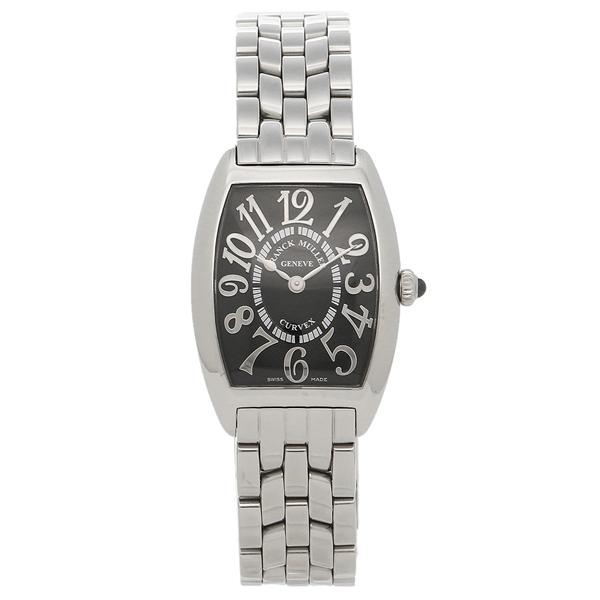 FRANCK MULLER フランクミュラー 腕時計 レディース 1752QZOAC シルバー ブラック