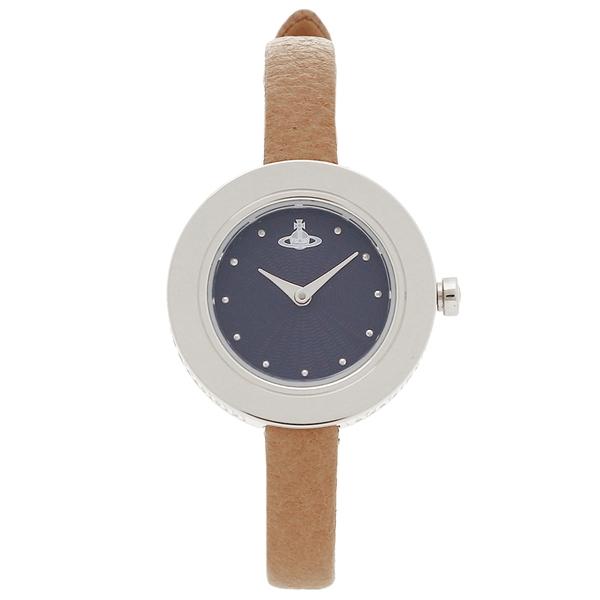 VIVIENNE WESTWOOD ヴィヴィアンウエストウッド 腕時計 レディース VV097NVTN ブルー ブラウン シルバー