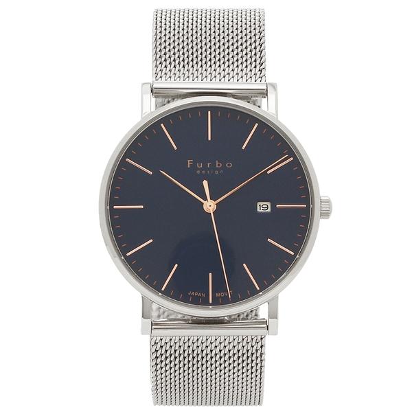 Furbo design 腕時計 メンズ フルボデザイン F02-SNVSS ブルー シルバー