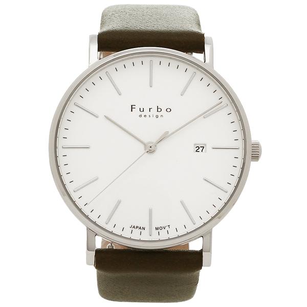 Furbo design 腕時計 メンズ フルボデザイン F02-SWHLG グリーン シルバー