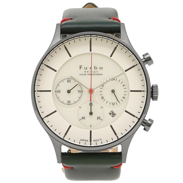 Furbo design 腕時計 メンズ フルボデザイン F751-GWHNV ネイビー ホワイト シルバー