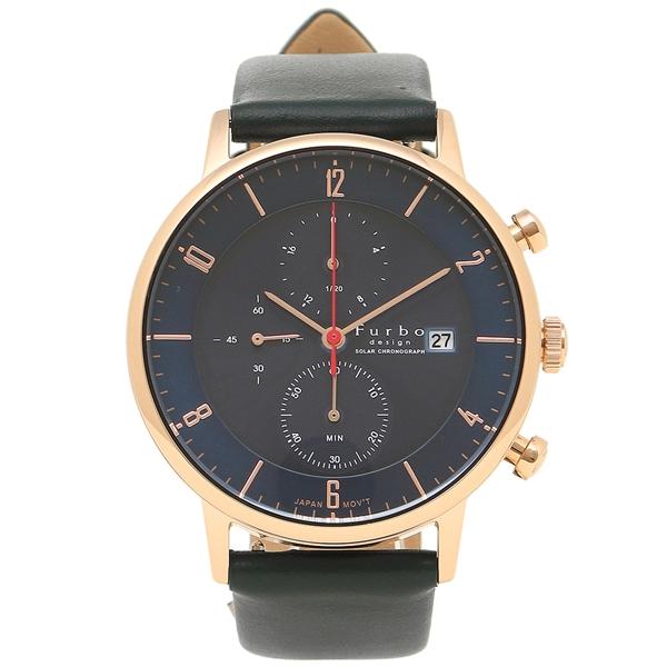 Furbo design 腕時計 メンズ フルボデザイン F761-PNVNV ピンクゴールド ネイビーブルー