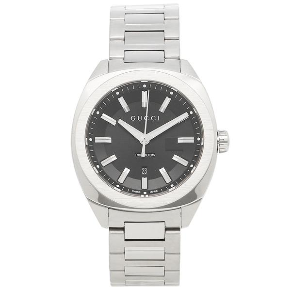 GUCCI 腕時計 レディース/メンズ グッチ YA142401 ブラック シルバー