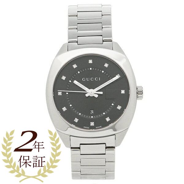 GUCCI 時計 レディース/メンズ グッチ YA142404 ブラック シルバー