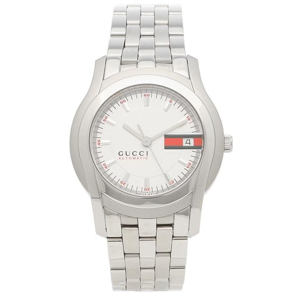 GUCCI 腕時計 メンズ グッチ YA055205 シルバー ホワイト
