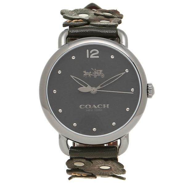 COACH コーチ 腕時計 レディース 14502745 シルバー ブラック ブラウン