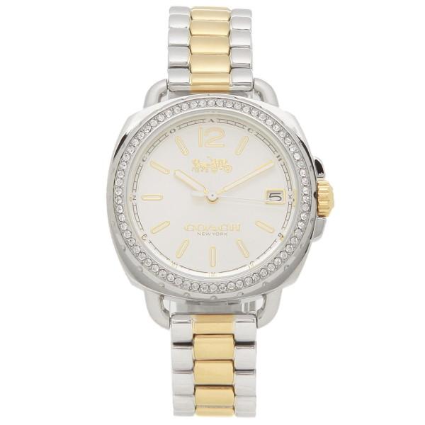COACH コーチ 腕時計 レディース 14502591 シルバー イエローゴールド
