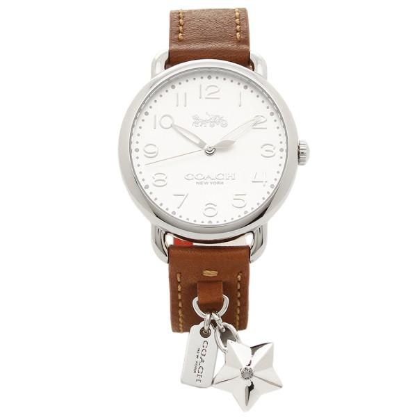 COACH コーチ 腕時計 レディース 14502820 ブラウン ホワイト シルバー