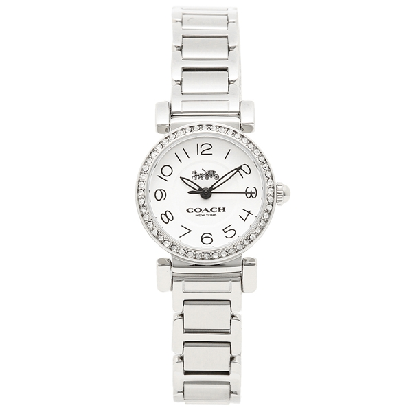 COACH コーチ 腕時計 レディース 14502851 ホワイト シルバー