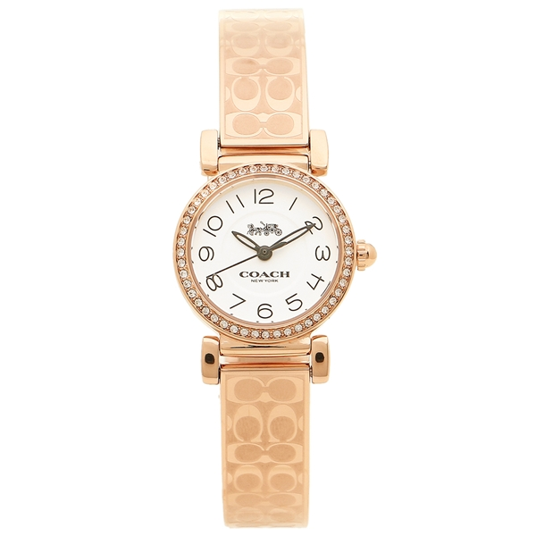COACH コーチ 腕時計 レディース 14502872 ホワイト ローズゴールド