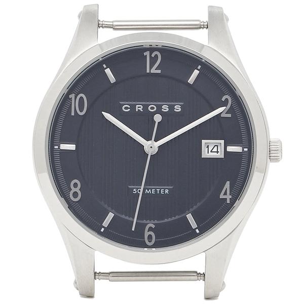 CROSS クロス 腕時計フェイス メンズ/レディース CR8036-03 ブルー シルバー